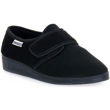 Čevlji  Moški Nogavice Emanuela 601 NERO PANTOFOLA Nero