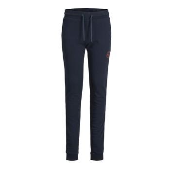 Oblačila Dečki Spodnji deli trenirke  Jack & Jones JJIGORDON JJSHARK SWEAT PANT Modra