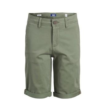 Oblačila Dečki Kratke hlače & Bermuda Jack & Jones JJIBOWIE JJSHORTS Bež