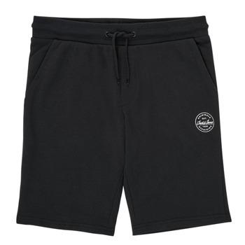 Oblačila Dečki Kratke hlače & Bermuda Jack & Jones JJI SHARK JJSWEAT Črna