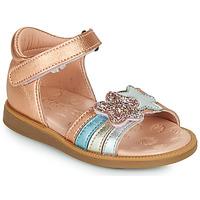 Čevlji  Deklice Sandali & Odprti čevlji Acebo's 1228-RAME Bronze