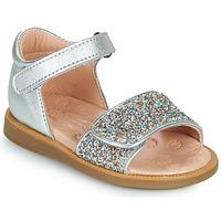 Čevlji  Deklice Sandali & Odprti čevlji Acebo's 1232-PLATA Srebrna