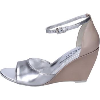 Čevlji  Ženske Sandali & Odprti čevlji Hogan BK658 Srebro