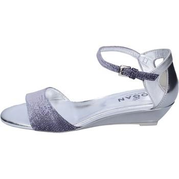 Čevlji  Ženske Sandali & Odprti čevlji Hogan BK661 Modra