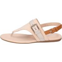 Čevlji  Ženske Sandali & Odprti čevlji Hogan BK664 Bež