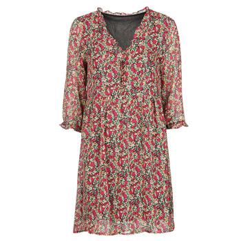 Oblačila Ženske Kratke obleke Betty London NEBECCA Rdeča / Večbarvna