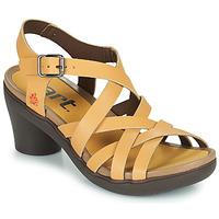 Čevlji  Ženske Sandali & Odprti čevlji Art ALFAMA Bež
