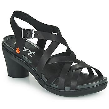 Čevlji  Ženske Sandali & Odprti čevlji Art ALFAMA Črna