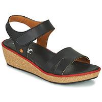 Čevlji  Ženske Sandali & Odprti čevlji Art CAPRI Črna