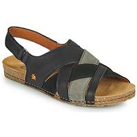 Čevlji  Ženske Sandali & Odprti čevlji Art CRETA Črna