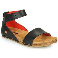 Čevlji  Ženske Sandali & Odprti čevlji Art CRETA Črna / Rdeča