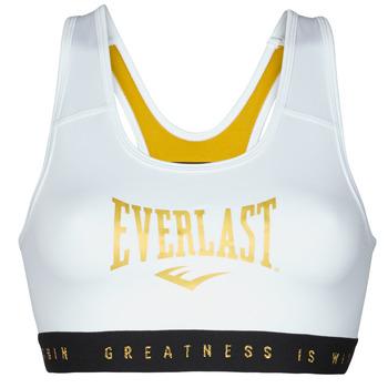 Oblačila Ženske Športni nedrčki Everlast EVL BRAND BR Bela / Zlata