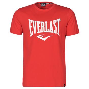 Oblačila Moški Majice s kratkimi rokavi Everlast EVL- BASIC TEE-RUSSEL Rdeča