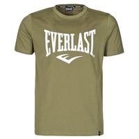 Oblačila Moški Majice s kratkimi rokavi Everlast EVL- BASIC TEE-RUSSEL Kaki
