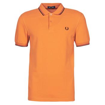 Oblačila Moški Polo majice kratki rokavi Fred Perry TWIN TIPPED FRED PERRY SHIRT Kamel
