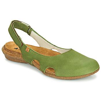 Čevlji  Ženske Sandali & Odprti čevlji El Naturalista WAKATAUA Zelena