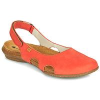 Čevlji  Ženske Sandali & Odprti čevlji El Naturalista WAKATAUA Oranžna