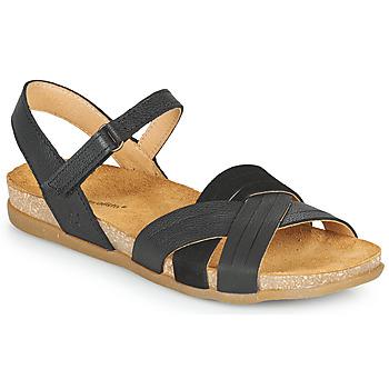 Čevlji  Ženske Sandali & Odprti čevlji El Naturalista ZUMAIA Črna