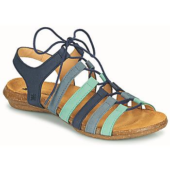 Čevlji  Ženske Sandali & Odprti čevlji El Naturalista WAKATAUA Modra