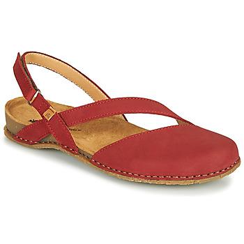 Čevlji  Ženske Sandali & Odprti čevlji El Naturalista PANGLAO Rdeča