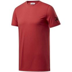 Oblačila Moški Majice s kratkimi rokavi Reebok Sport Wor WE Commercial Tee Bordo rdeča