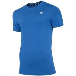 Oblačila Moški Majice s kratkimi rokavi 4F TSMF002 Modra