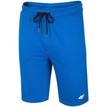 Oblačila Moški Kratke hlače & Bermuda 4F SKMD001 Modra