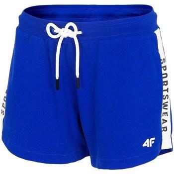 Oblačila Ženske Kratke hlače & Bermuda 4F SKDD003 Modra