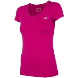 Oblačila Ženske Majice s kratkimi rokavi 4F TSDF002 Roza