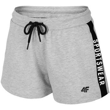 Oblačila Ženske Kratke hlače & Bermuda 4F SKDD003 Siva