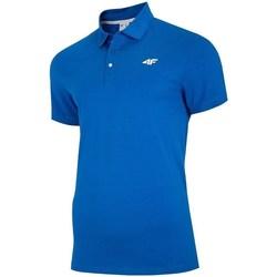 Oblačila Moški Polo majice kratki rokavi 4F TSM007 Modra