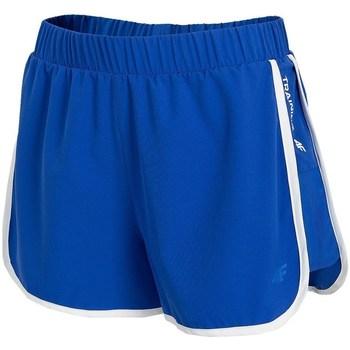 Oblačila Ženske Kratke hlače & Bermuda 4F SKDF001 Modra