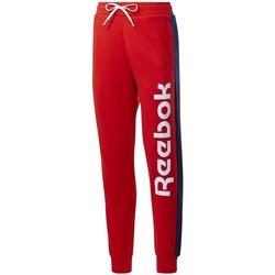 Oblačila Ženske Spodnji deli trenirke  Reebok Sport TE Liner Logo French Terry Rdeča