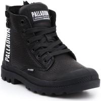 Čevlji  Ženske Visoke superge Palladium Manufacture Pampa UBN ZIPS 96857-008-M black