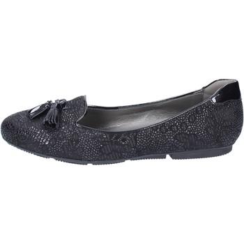 Čevlji  Ženske Balerinke Hogan Mokasine BK670 Črna