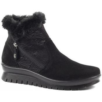 Čevlji  Ženske Škornji za sneg Salamander Kia Booties Black