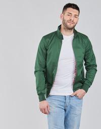 Oblačila Moški Jakne Harrington HARRINGTON PAULO Zelena