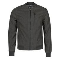 Oblačila Moški Usnjene jakne & Sintetične jakne Kaporal KYRO Črna
