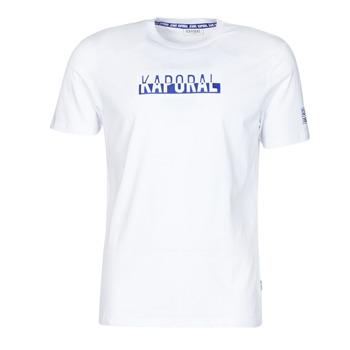 Oblačila Moški Majice s kratkimi rokavi Kaporal DINO Bela