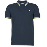 Oblačila Moški Polo majice kratki rokavi Kaporal RAYOC Modra