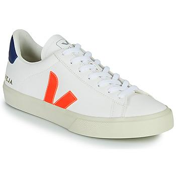 Čevlji  Nizke superge Veja CAMPO Bela / Oranžna / Modra