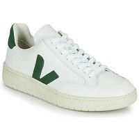 Čevlji  Nizke superge Veja V-12 Bela / Zelena
