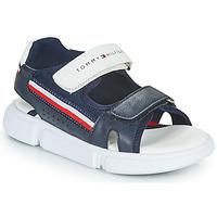 Čevlji  Otroci Sandali & Odprti čevlji Tommy Hilfiger TIFFOU Modra