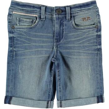 Oblačila Dečki Kratke hlače & Bermuda Name it NKMTHEO DNMTOMO Modra