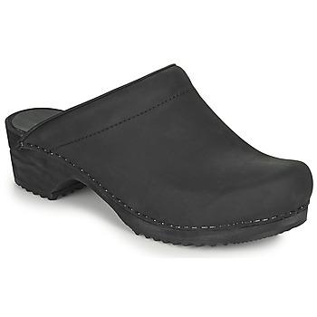 Čevlji  Ženske Cokli Sanita CHRISSY Črna