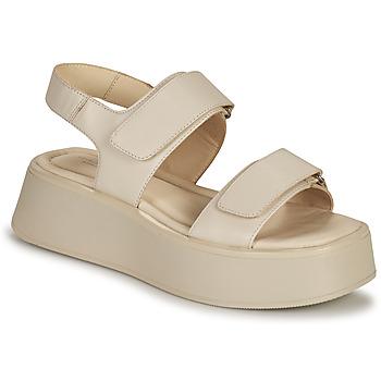 Čevlji  Ženske Sandali & Odprti čevlji Vagabond Shoemakers COURTNEY Bež