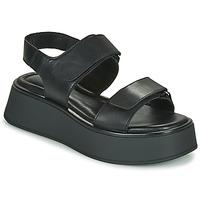 Čevlji  Ženske Sandali & Odprti čevlji Vagabond Shoemakers COURTNEY Črna