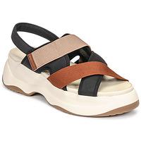 Čevlji  Ženske Sandali & Odprti čevlji Vagabond Shoemakers ESSY Bela / Rouille / Črna