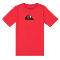 Oblačila Dečki Majice s kratkimi rokavi Quiksilver COMP LOGO Rdeča
