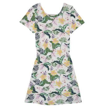 Oblačila Deklice Kratke obleke Roxy THE CLOUDS Večbarvna